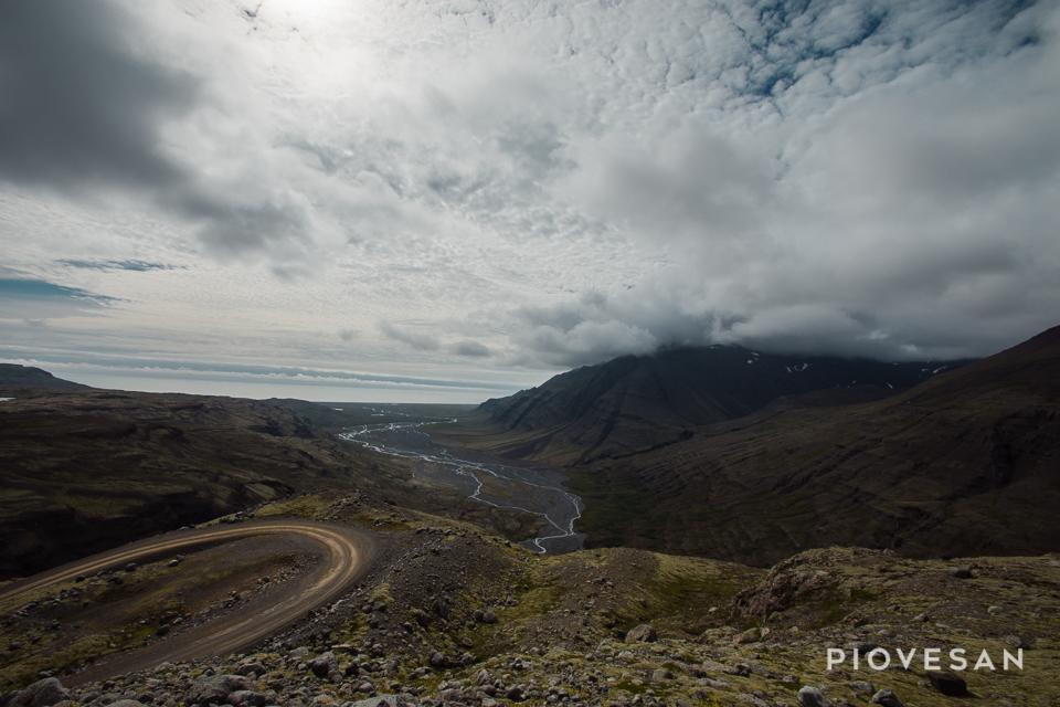 Route vers Fjallakaffi